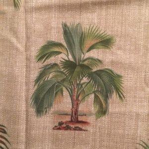 Vintage Kravet Palms Cotton Fabric